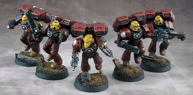 Blood Angels Assault Squad Aurelius