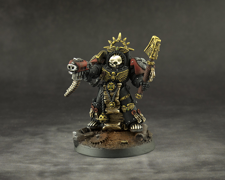 Blood Angels Chaplain in Terminator Armour
