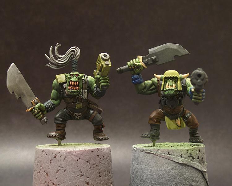 Ork Boyz WIP#1