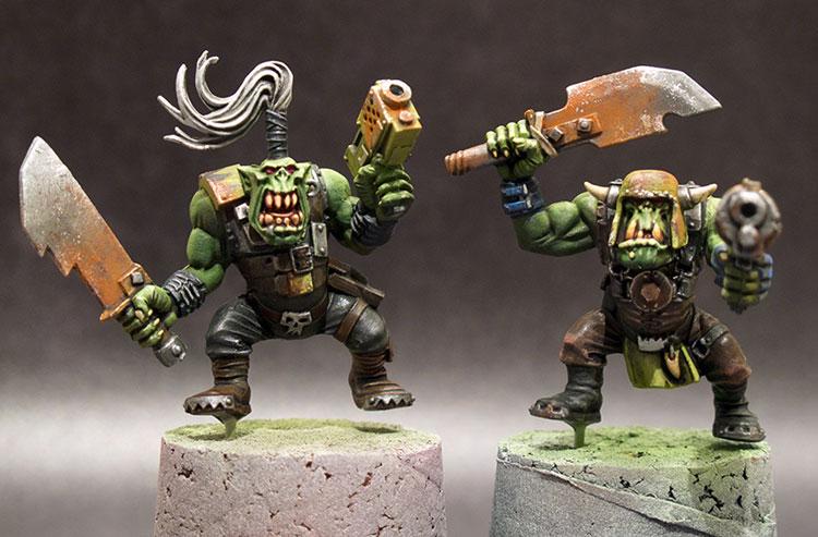 Ork Boyz WIP#2