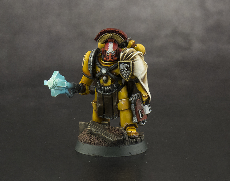 Imperial Fist Captain of the Fifth