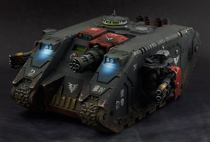 Land Raider PLUS (blue lights)