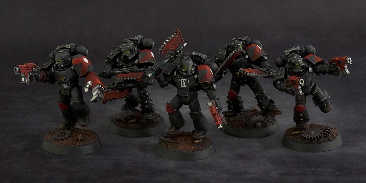 Forge World kitbashed Death Company