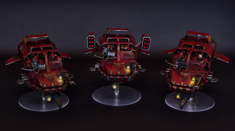 Blood Angels Land Speeder Squadron