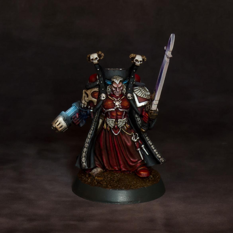 Mephiston, Lord of Death (original sculpt)