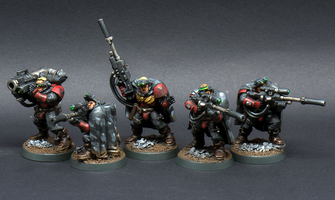Blood Angels Scout Snipers