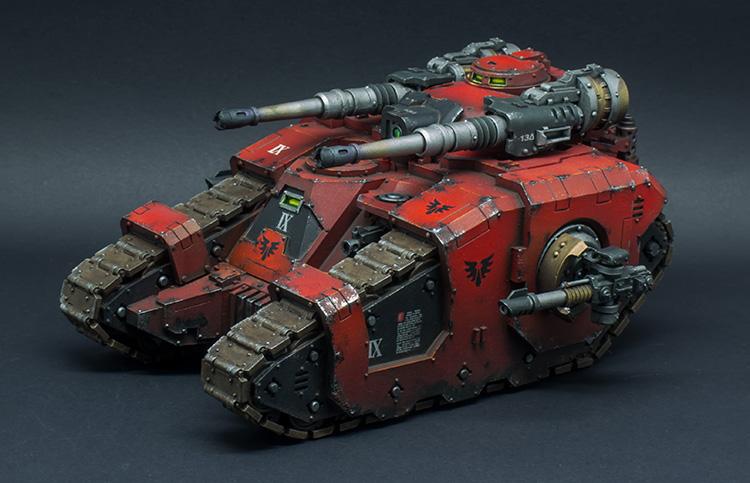 Blood Angels Sicaran Battle Tank