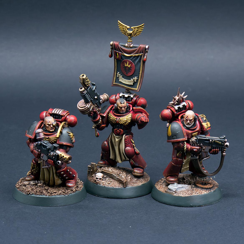 Blood Angels Tactical Sergeants