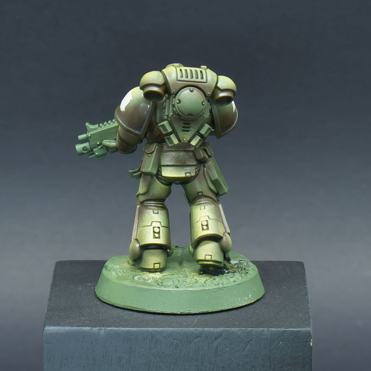 How to paint Raptors Space Marines - Step 6b