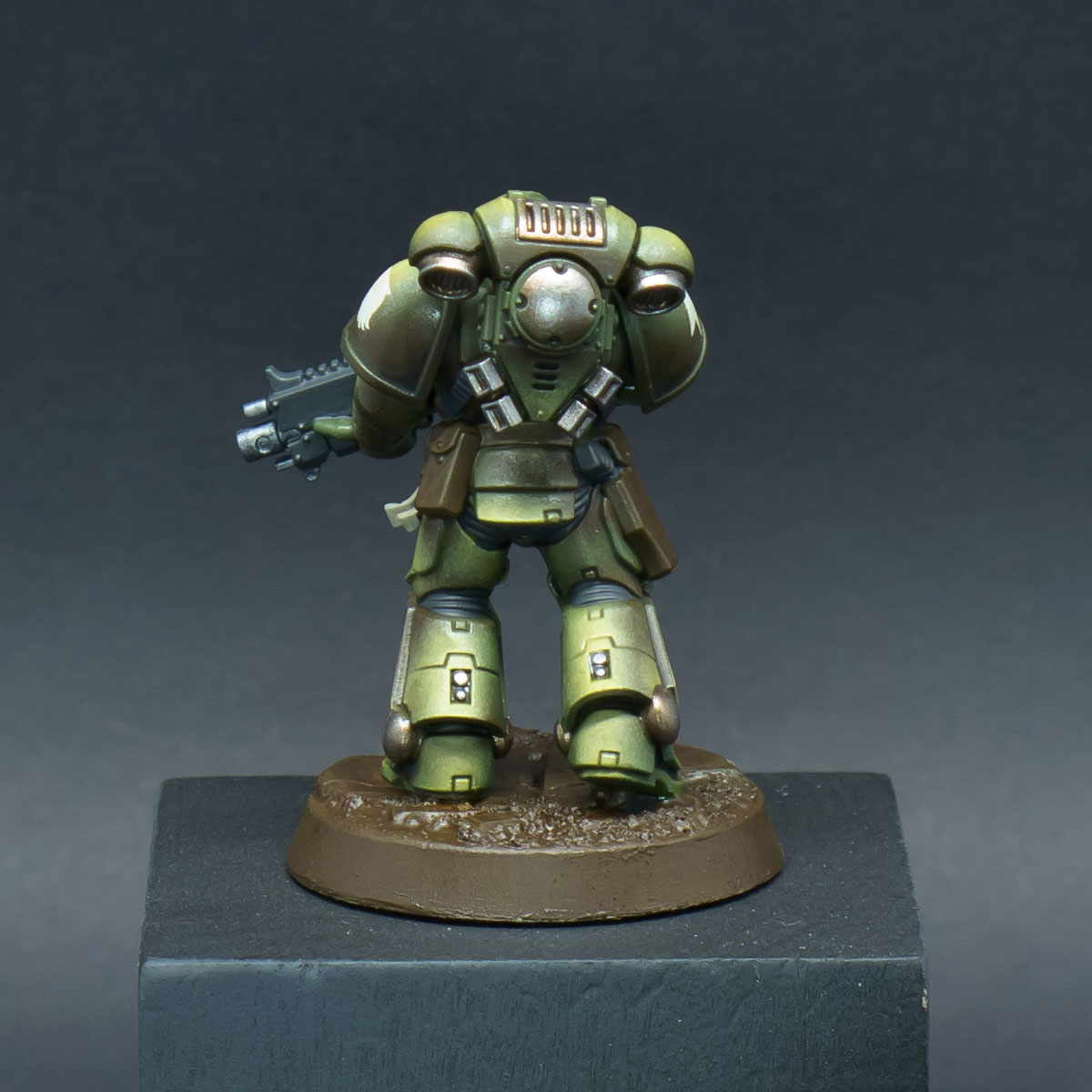 How to paint Raptors Space Marines - Step 7b