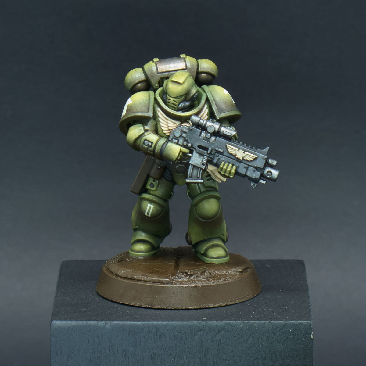 How to paint Raptors Space Marines - Step 8a