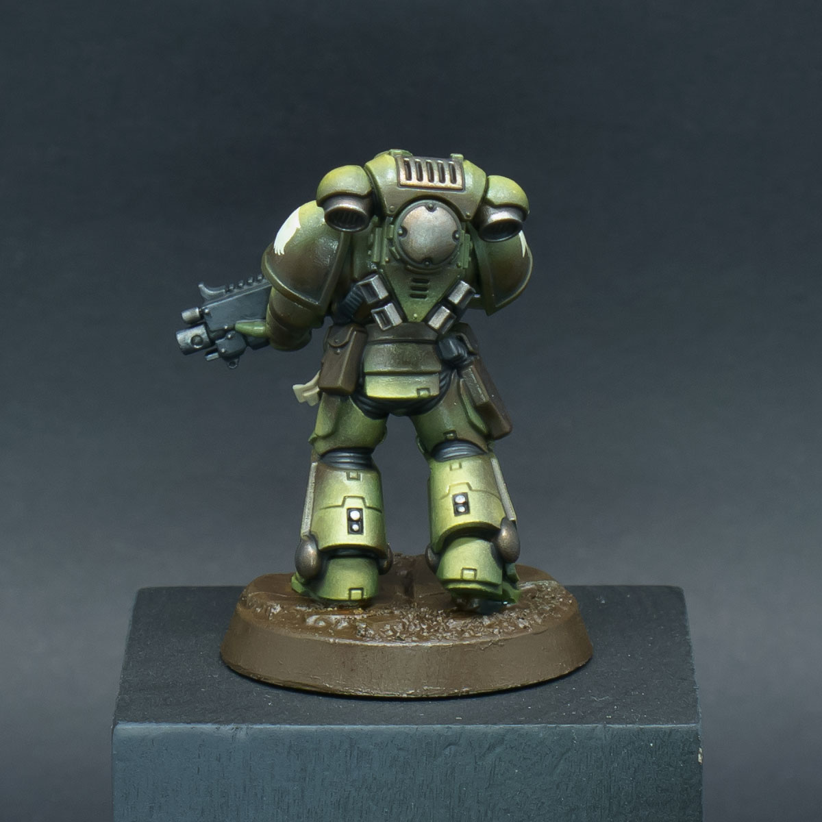 How to paint Raptors Space Marines - Step 8b
