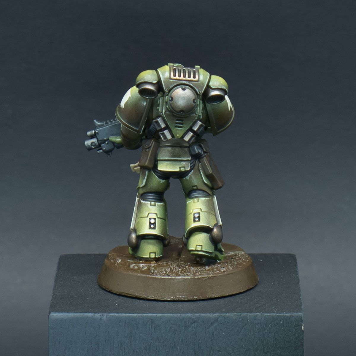 How to paint Raptors Space Marines - Step 9b