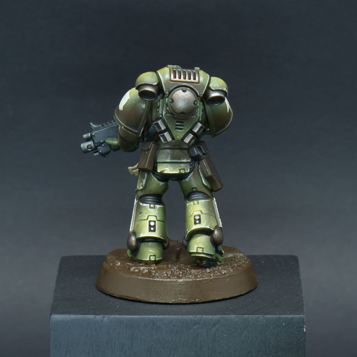 How to paint Raptors Space Marines - Step 11b