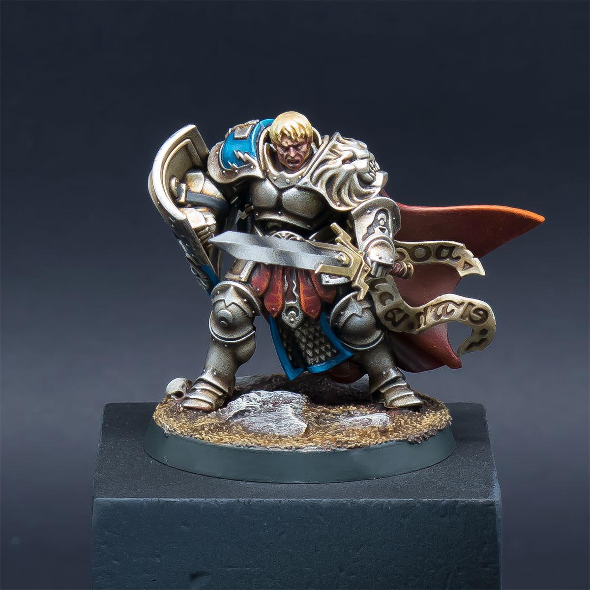 Knight Questor and Fyreslayer Doomseeker