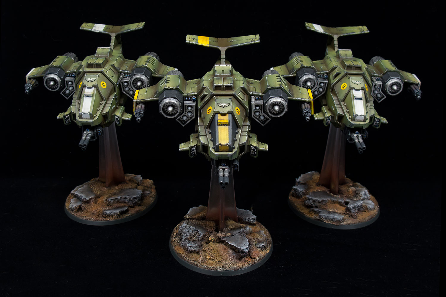 Raptors Stormhawk Interceptor Airwing