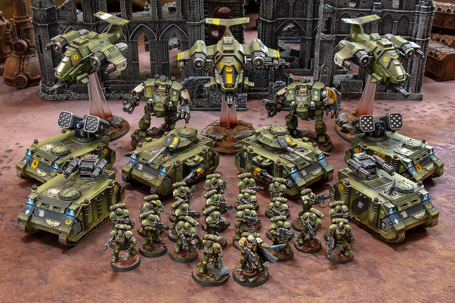 Raptors Space Marines army