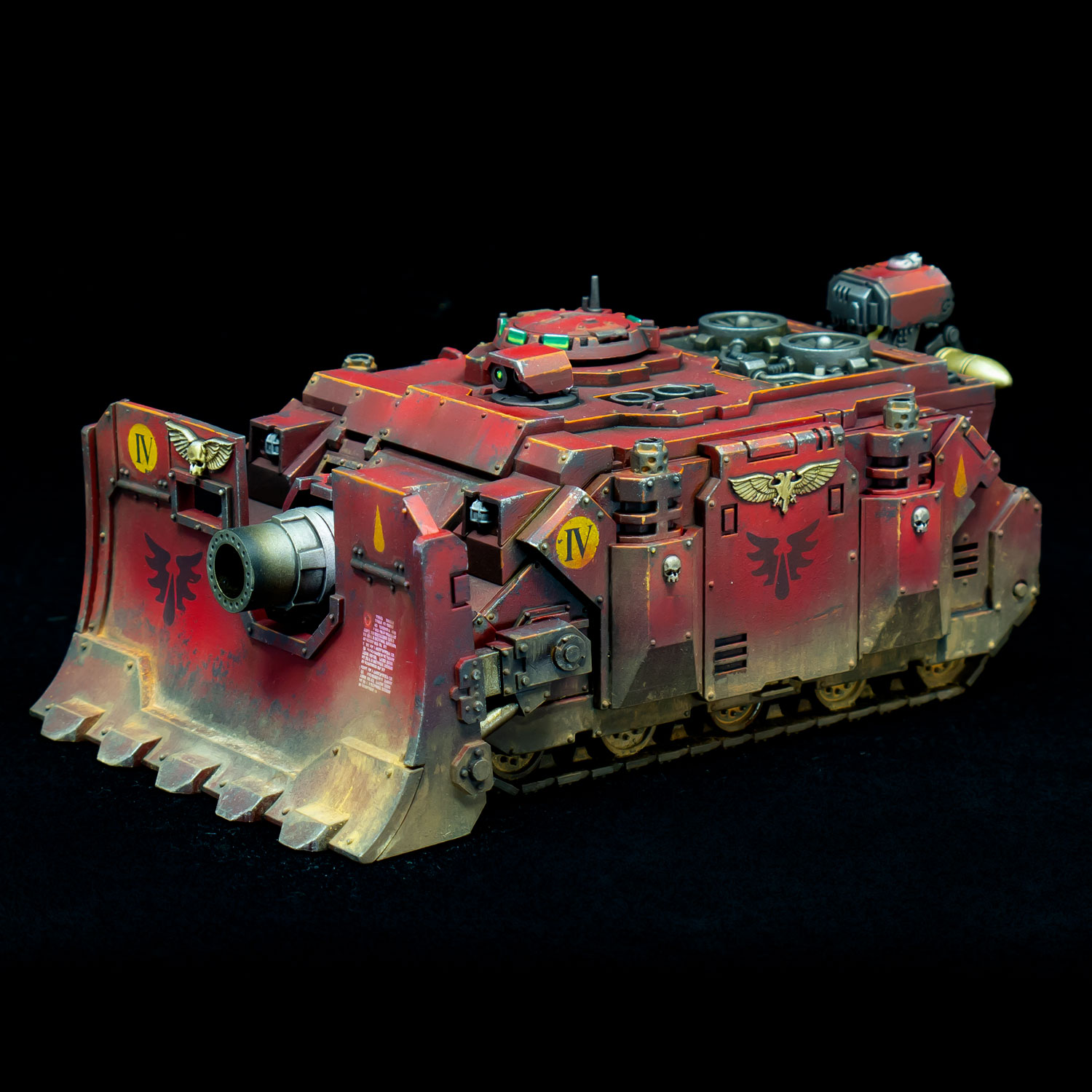 The Mighty Brush Blood Angels Vindicator