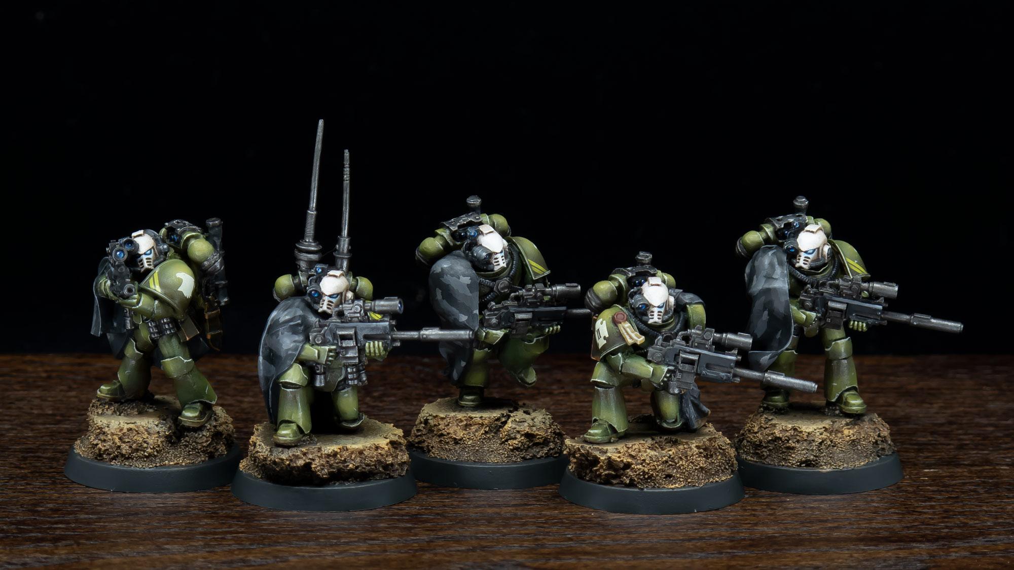 Raptors Sternguard (Legion Recon Squad)