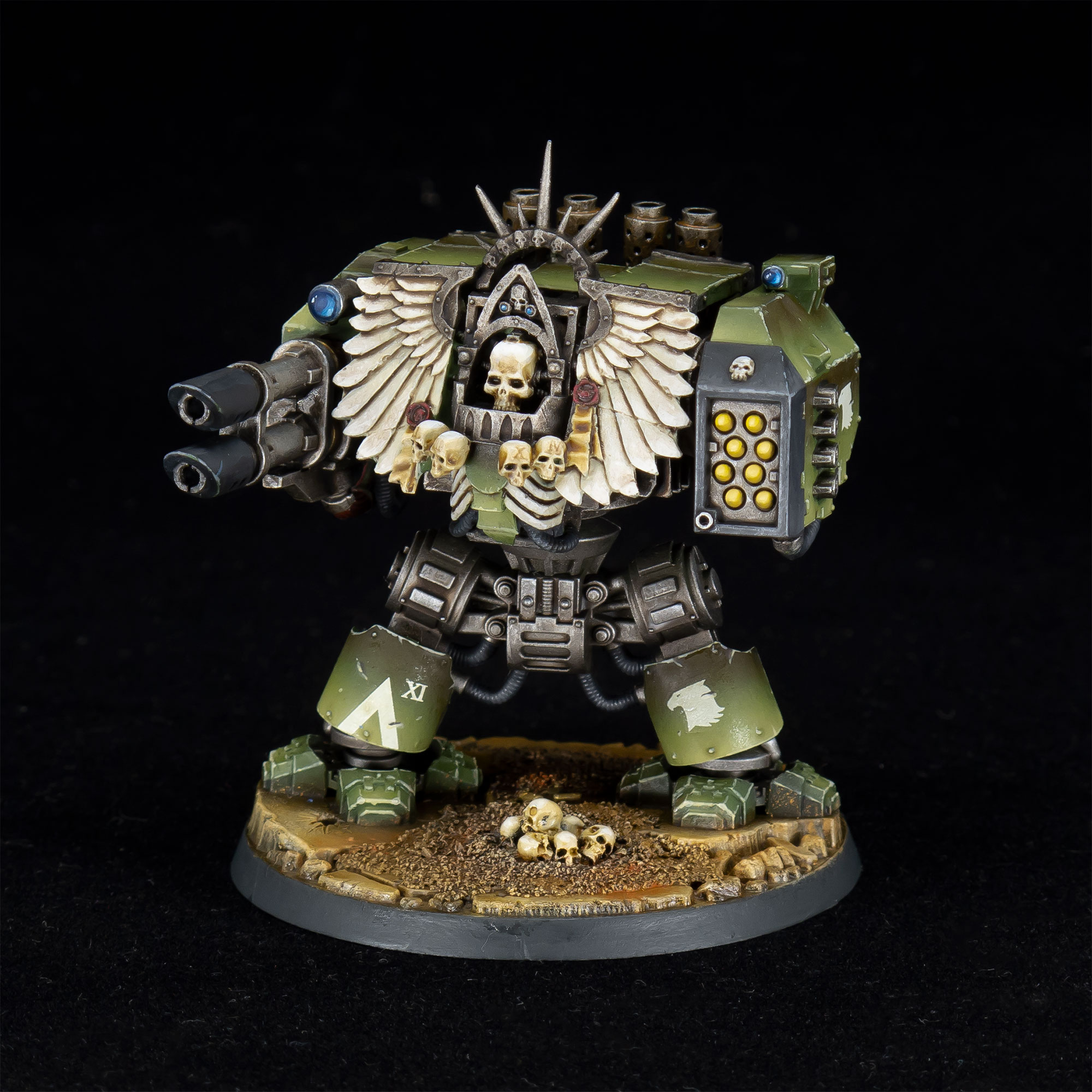 Raptors Forge World Chaplain Dreadnought
