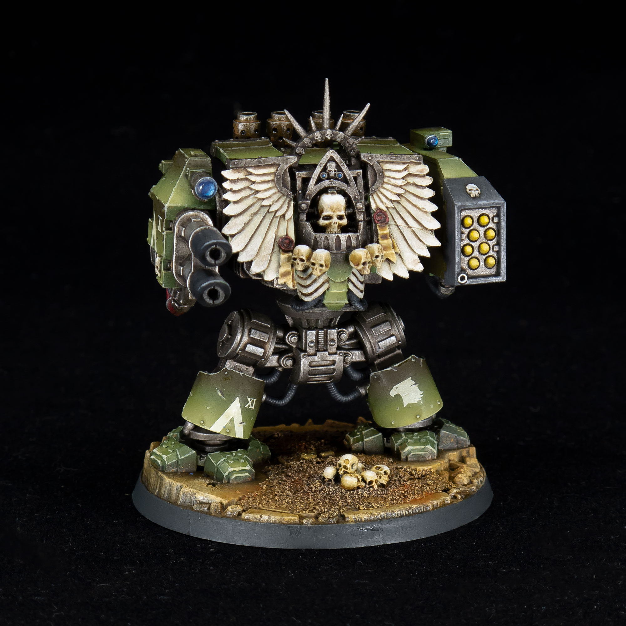 Raptors Forge World Chaplain Drednought