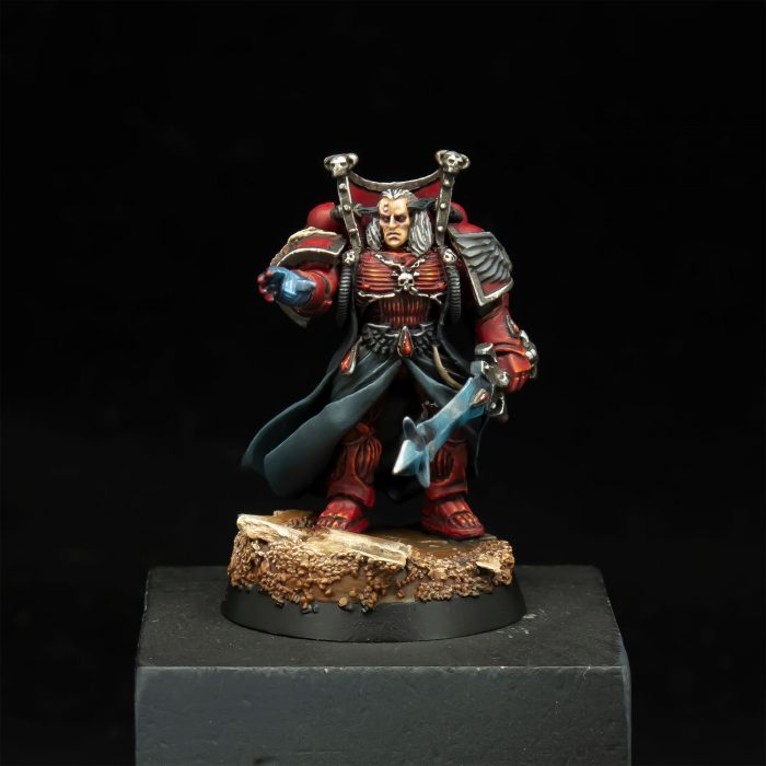 Blood Angels Chief Librarian Mephiston
