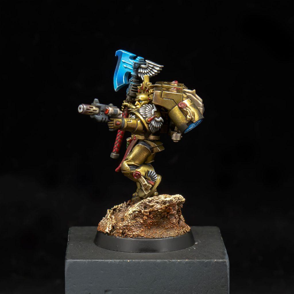 Tutorial: How to Paint Space Hulk Blood Angel Terminators ...