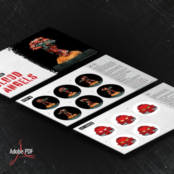 Blood Angels PDF painting guide