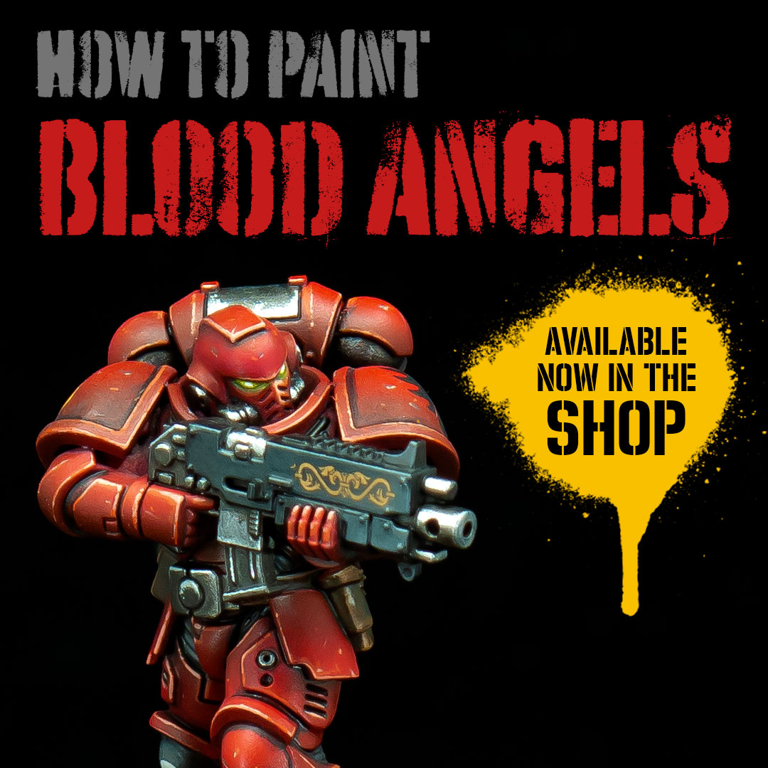 Blood Angels Painting Guide now available in the shop!