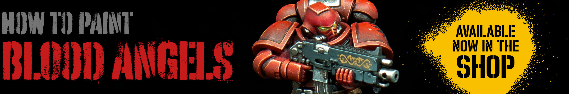 How to paint Blood Angels – PDF painting guide now available in the shop