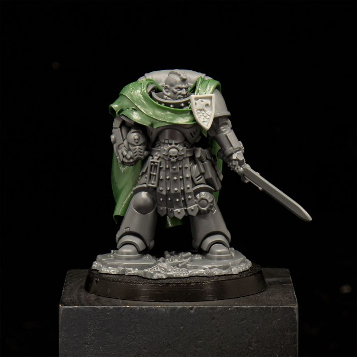 Lieutenant Cerrin of the Raptors 2nd Company