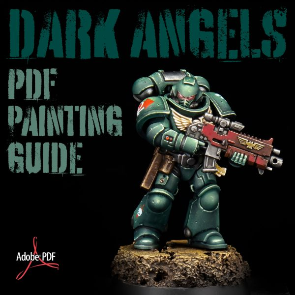 How to paint Dark Angels PDF painting guide