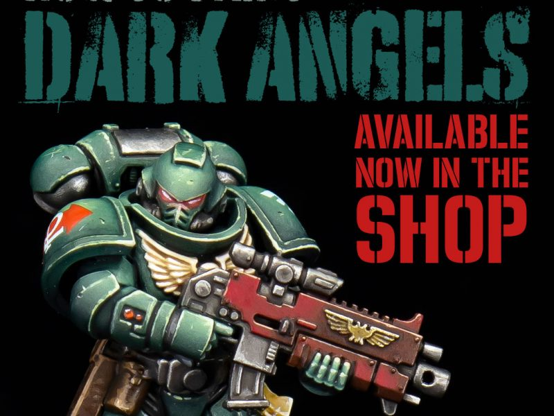 Dark Angels Painting Guide now available in the shop!