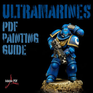 How to paint Ultramarines PDF painting guide