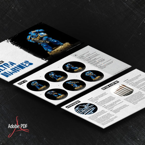 Ultramarines PDF painting guide