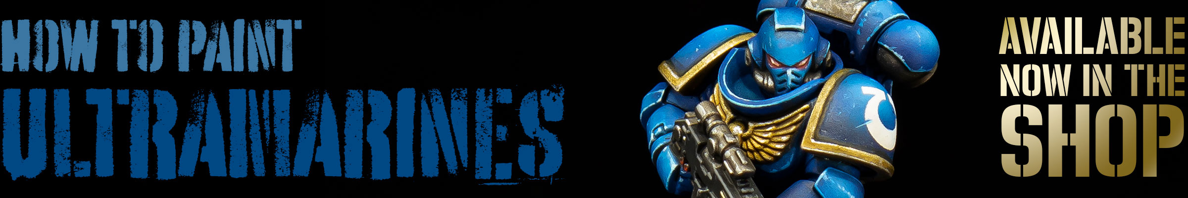 How to paint Ultramarines PDF painting guide now available in the shop