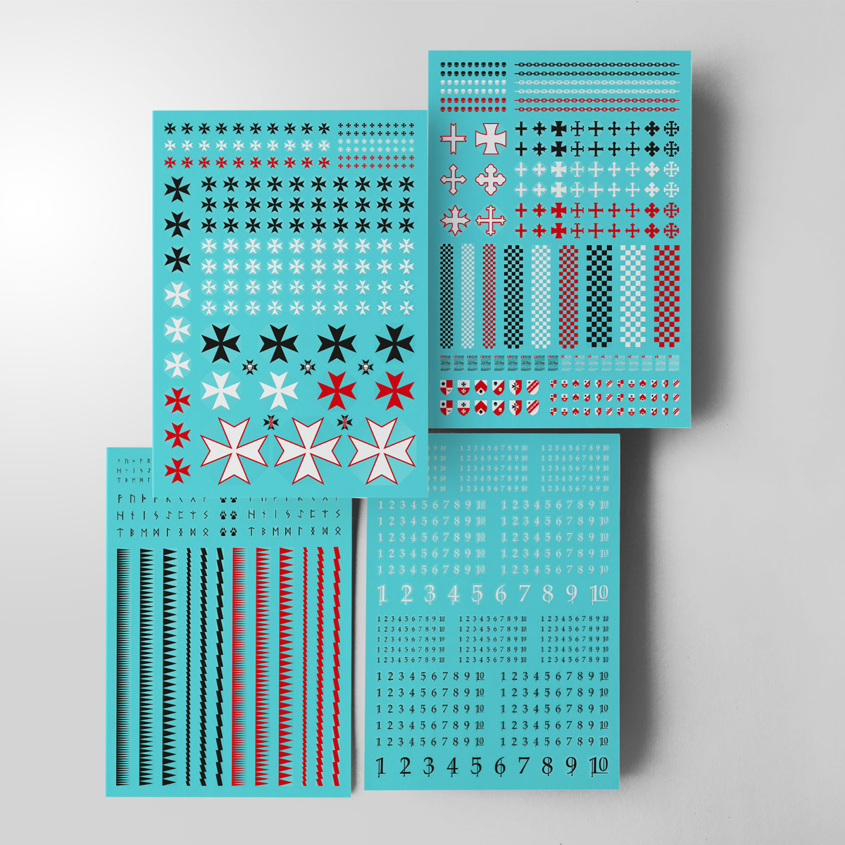 NEW! Screen printed transfer sheets