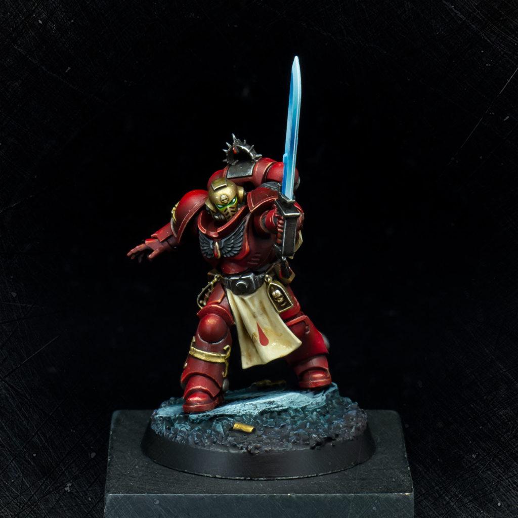 Blood Angels Primaris Lieutenant Tolmeron