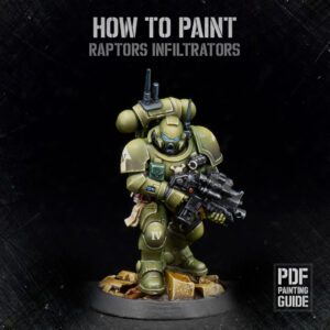 How to Paint Raptors Infiltrators