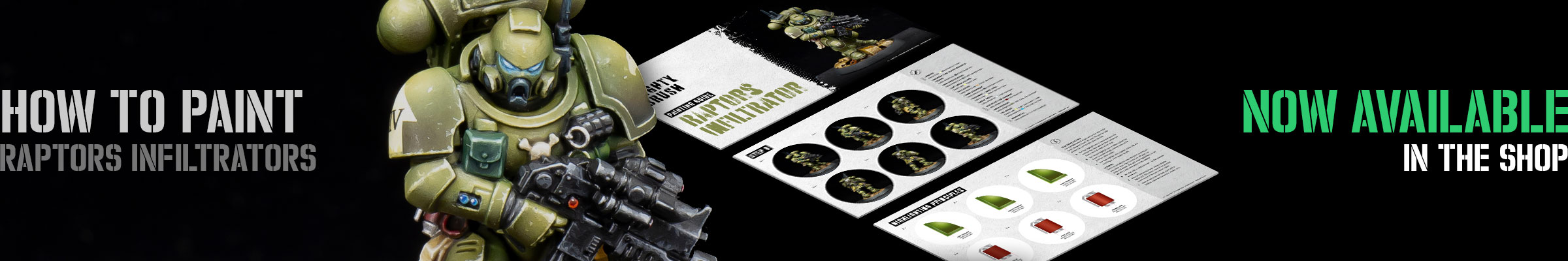 How to paint Raptors Infiltrators now available in the shop