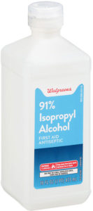 Isopropyl rubbing alcohol