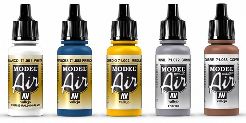 Vallejo Model Air paints