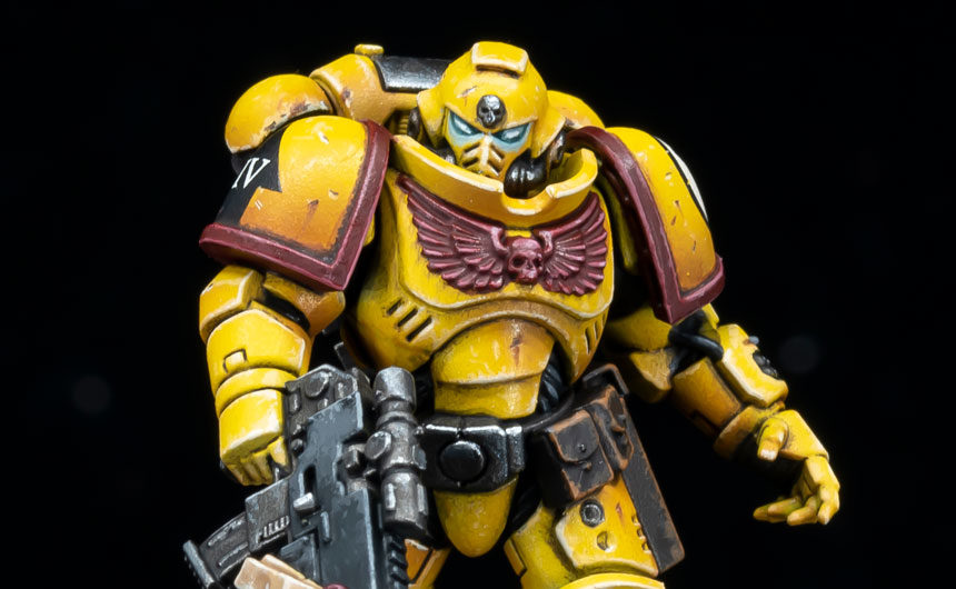 The Mighty Brush Imperial Fists