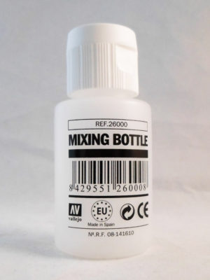 Vallejo mixing bottle