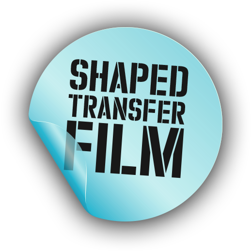 Shaped transfer film icon