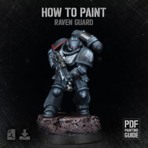 How to paint Raven Guard PDF painting guide