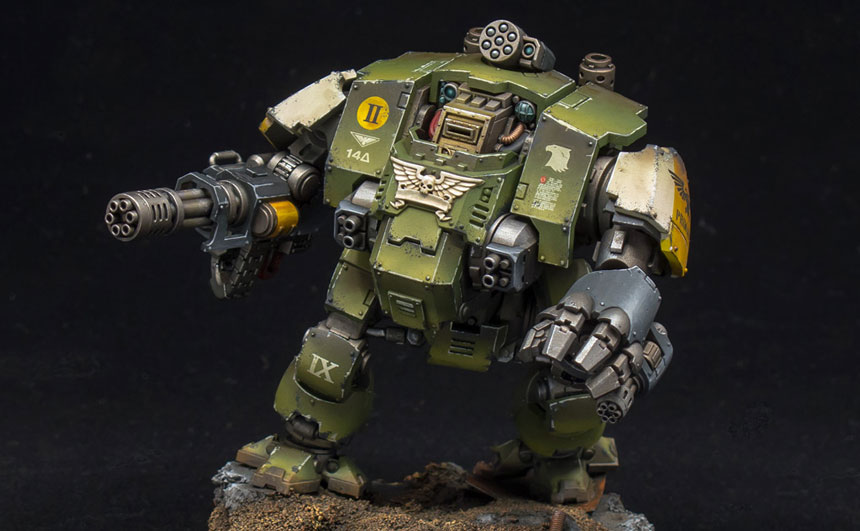 Raptors Redemptor Dreadnoughts The Mighty Brush