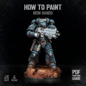 How to paint Iron Hands PDF painting guide