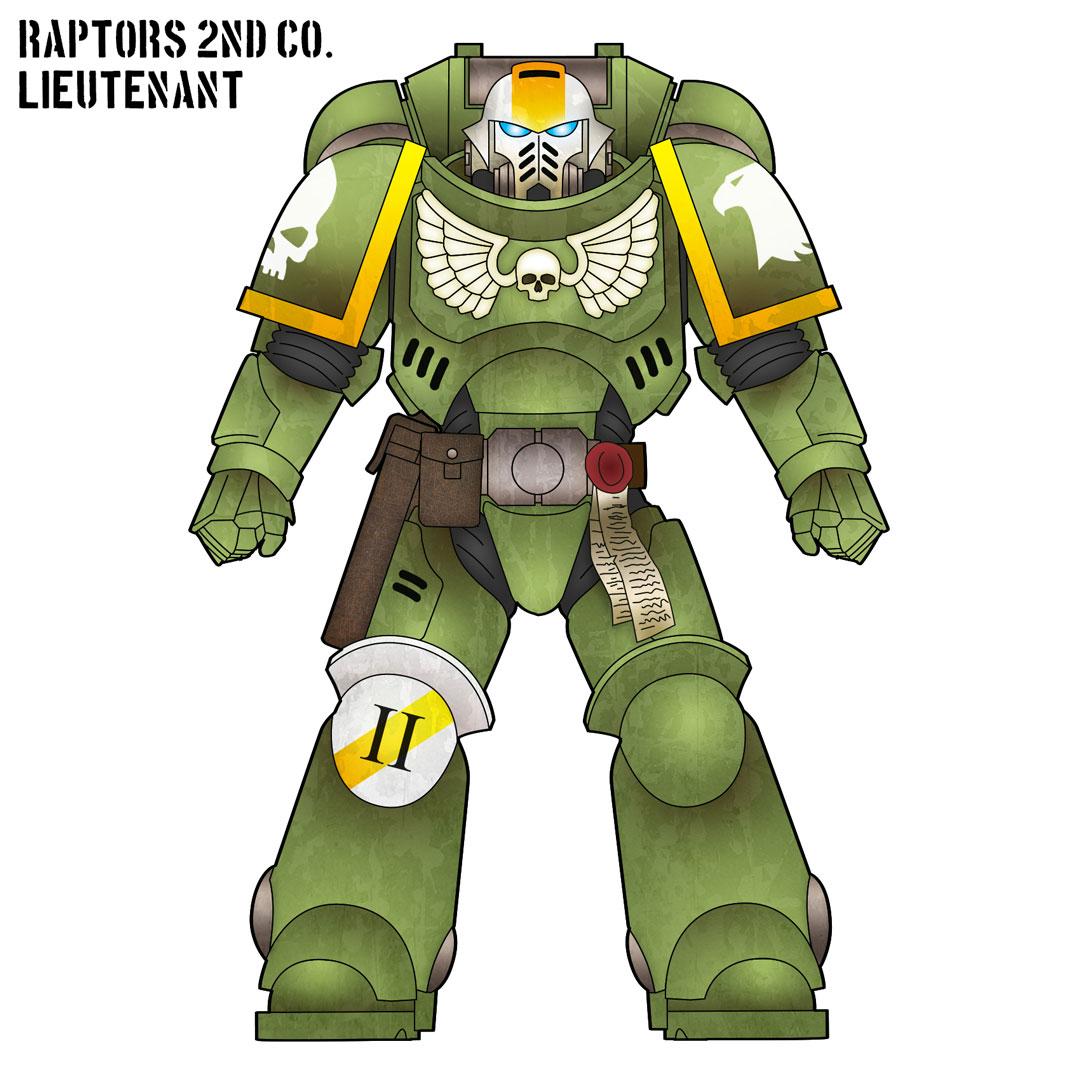Raptors Lieutenant