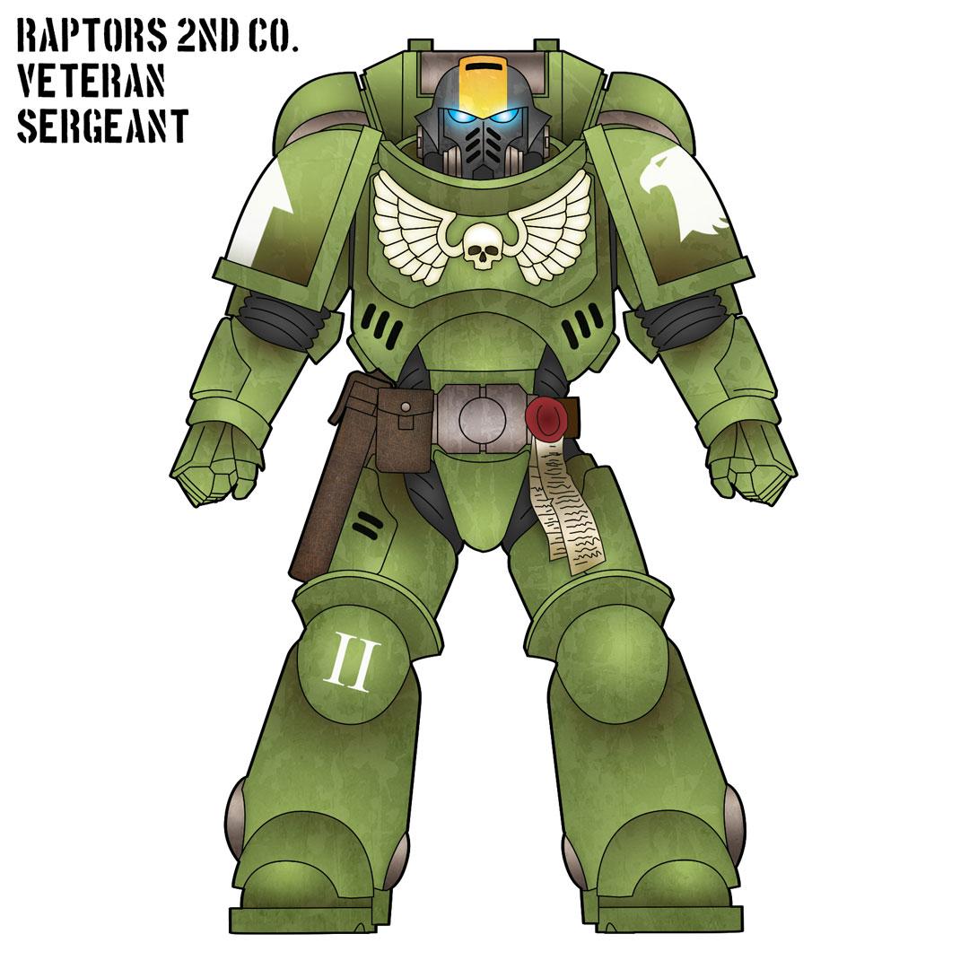 Raptors sergeant